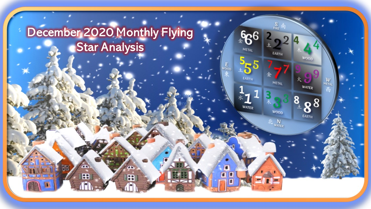Monthly Flying Stars – December 2020, Earth Rat – from December 7th, 2020 to January 4th