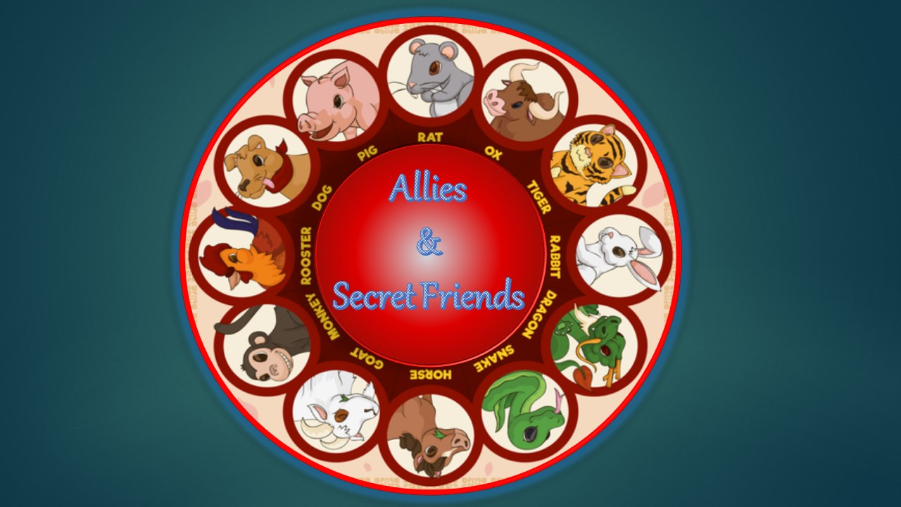 Chinese Horoscope Zodiac Allies & Secret Friends.