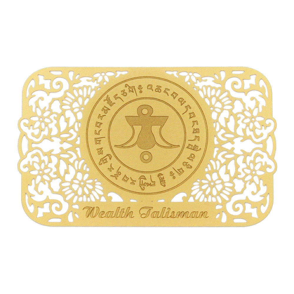 Wealth Talisman on Gold Card