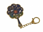 8- Sided mirror key chain Fan for Longevity of Career and Promotions