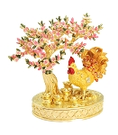 Bejeweled Peach Blossom - Rooster