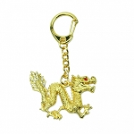 Bejeweled Dragon Amulet Keychains