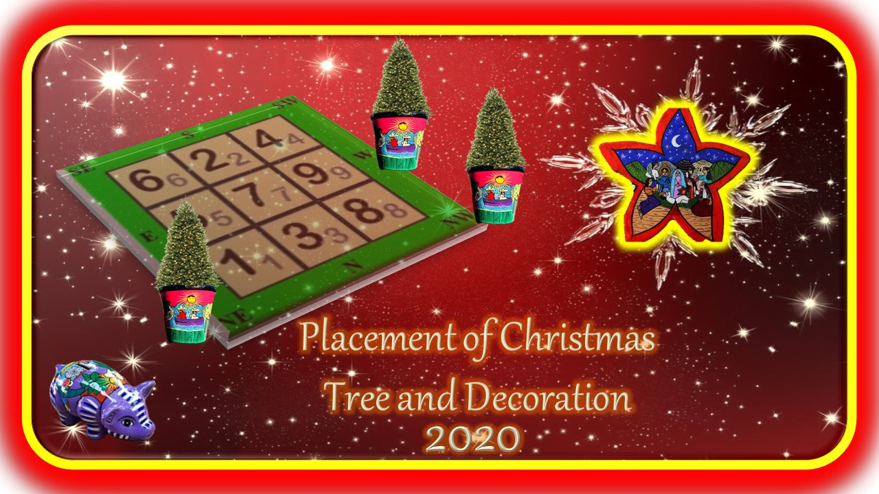 Placement of Christmas Tree and Decorations 2021