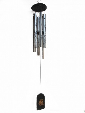 6 Rod Silver Wind Chime