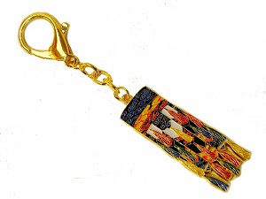 Winning Luck Victory Banner Keychains