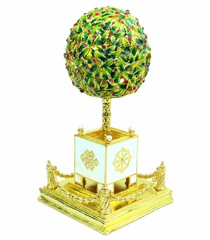 Bejeweled Wealth Granting Trees